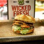 Wicked Fresh Burger Logo
